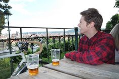 Come with us to enjoy a Czech Beer in the most famous beer garden.