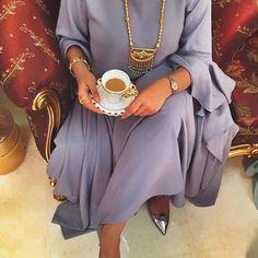 IG: GioielloBoutiqueDubai || Modern Abaya Khaleeji Fashion || IG: Beautiifulinblack