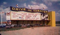 Harbor Blvd Drive-in - Santa Ana, CA. Saw a lot of movies here in the with my boyfriend (now husband). Vintage Movie Theater, Drive In Movie Theater, Vintage Movies, Cinema Theatre, Orange County California, Vintage California, California Love, Outdoor Theater, Outdoor Cinema