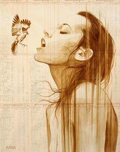 Портреты от художника Michael Aaron Williams, нарисованные кофе (11 картин) » RadioNetPlus.ru развлекательный портал