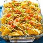 This Nacho Pot Pie has a taco flavored filling of black beans and corn topped with a crushed tortilla chip crust. Nacho Pot Pie is comfort food with a Mexican twist. This easy dinner is Beef Recipes, Mexican Food Recipes, Dinner Recipes, Cooking Recipes, Ethnic Recipes, Dinner Ideas, Recipies, Mexican Entrees, Mexican Desserts