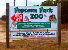 POPCORN ZOO IN THE NJ A FUN STOP FOR THE FAMILY ALL YEAR ROUND loved this place as a kid