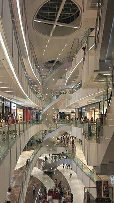 SM Aura in Fort Bonifacio Global City, Metro Manila I - SM Aura Premier - Wikipedia, the free encyclopedia Intramuros, Makati City, Filipino Culture, Entrance Design, Shopping Malls, Philippines Travel, Modern Buildings, Retail Design, Manila