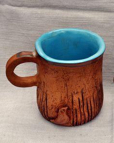 Hiding bird handbuild ceramic mug £15.00