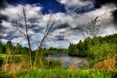HDR photo of a rainbow taken in the Adirondacks of Upstate New York in May 2011. Photo by @Joey Lax-Salinas