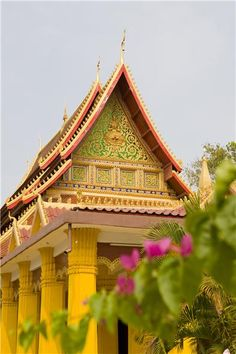 Vientiane temple, LAOS  - Explore the World with Travel Nerd Nici, one Country at a Time. http://travelnerdnici.com