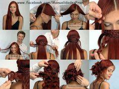 Diy peinados y recogidos. | Cuidar de tu belleza es facilisimo.com