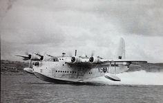 October 16, 1937: First flight of the Short Sunderland