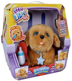 Video Review for Little Live Pets Snuggles My Dream Puppy showcasing product features and benefits