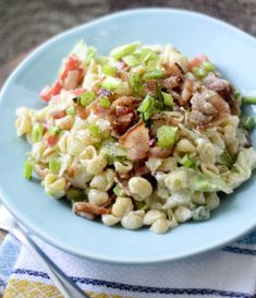 Weight Watcher's BLT Pasta Salad – 3 Points+ | Weight Watchers Recipes