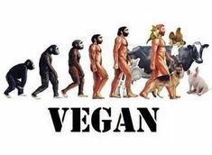 time to evolve - vegan future #veganlife