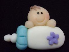 souvenirs para bautismo en porcelana fria - Buscar con Google