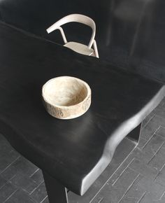 Table Collection WOOD color ebene by BLUNT