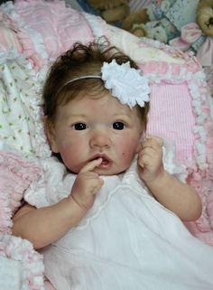 Bonnies Babies Reborn LE 1st Edition Bonnie Brown Saskia Free US shipping! #Unbranded