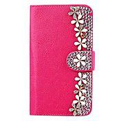 Elonbo Diamond Little Daisy Style PU Leather ... – USD $ 11.99