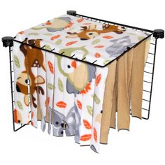 """Fleece Forest A """"MUST HAVE"""" in every cage! They can hide, they can run through, stays clean! Diy Guinea Pig Cage, Guinea Pig House, Pet Guinea Pigs, Guinea Pig Care, Bunny Cages, Rabbit Cages, Hedgehog Pet, Hedgehog Diy Cage, Diy Hedgehog Toys"""