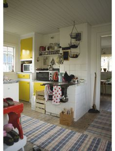 Love-hate relationship: quirky old kitchen, but so impractical for cooking