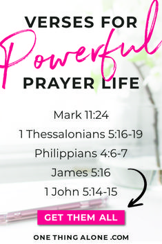 Are you ready to ignite your prayer life? These Scriptures will help you pray powerful prayers and jump start your relationship with God. Discover how these Scriptures can spur you on towards spiritual growth and strengthen your prayer life. Bible Verses About Prayer, Encouraging Bible Verses, Bible Prayers, Prayer For You, Power Of Prayer, Daily Prayer, Pray For Strength, Powerful Prayers, Daily Devotional