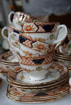 42 piece Sutherland english bone china by teresamarymurphy on Etsy, £130.00