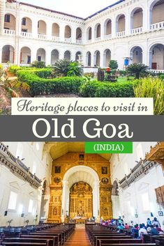 Places to visit in Old Goa: Churches and Convents that were added to Unesco heritage sites. Goa is one of the popular places to visit in India. Find out about dressing style, photography and other tips to visit Old Goa. Goa Travel, India Travel Guide, China Travel, Travel Tips, Travel Plan, Travel Hacks, Budget Travel, Travel Ideas, Goa India