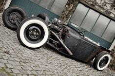 Rat Rods - Rockabilly's way of motoring. I approve.
