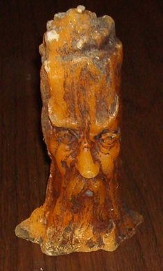 Vintage Halloween Gurley Candle ~ Scary Tree