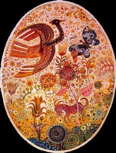 Une autre oeuvre de Juan Romero. Joyeuses Pâques!