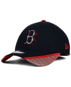 New Era Boston Red Sox Reflective Slugger 39THIRTY Cap