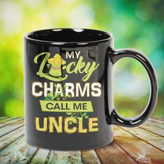 My Lucky Charms Call Me UNCLE Great t-shirts, mugs, bags, hoodie, sweatshirt, sleeve tee gift for aunt, auntie from niece, nephew or any girls, boys, children, friends, men, women on birthday, mother's day, father's day, Christmas or any anniversaries, holidays, occasions.