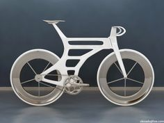 Simon L. (aka Ess) is a designer who is working on an interesting aerodynamic frame design. His blog is chronicling the development of the bike, which features openings in the head and seat tubes to allow air to pass through.
