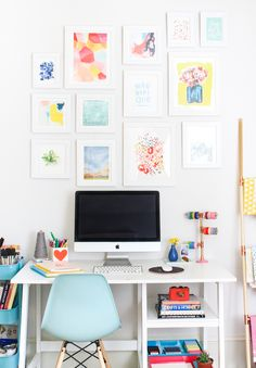 The Crafted Life's home office