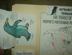 Embracing Destiny: Mr. Popper's Penguins free lapbook