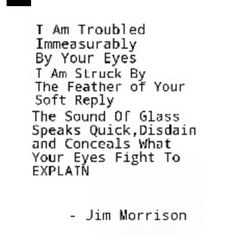 #jimmorrisonquote #thedoors