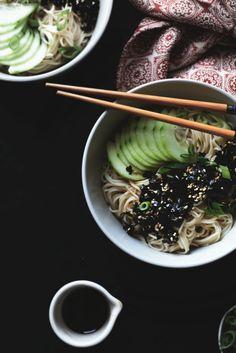 Somen Noodle Bowl A Food, Good Food, Noodle Bowls, Your Recipe, Vegan Dinners, Food Styling, Vegan Vegetarian, Sugar Free, Noodles