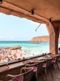 IBIZA tips: the most beautiful beaches, cafes & restaurants - - IBIZA tips: The most beautiful beaches, cafes & restaurants - Most Beautiful Beaches, Beautiful World, Beautiful Places, Ibiza Travel, Spain Travel, Cafe Restaurant, Ibiza Strand, Places To Travel, Places To Visit
