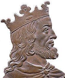 Chlothar II Merovingian, King of Franks  Son of  Chilperic I.- CLOTAIRE II. 2)BIOGRAPHIE. 2.5 LES RELATIONS AVEC AUSTRASIE ET BOURGOGNE (592-613). 2.5.4: GUERRE ENTRE CLOTAIRE ET L'UNION AUSTRASIE-BOURGOGNE (613), 4: Brunehaut subit un châtiment extrêmement dur: suppliciée 3 jours, puis exécutée en étant attachée à l'arrière d'un cheval indompté.