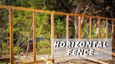 Building a Horizontal Fence