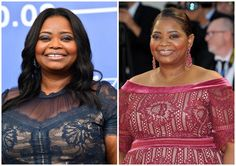 New Trending Celebrity Looks: Style File: Octavia Spencer in Tadashi Shoji at the Venice Film Festival.  Miss Octavia returns to her man, who always did right by her. The Tadashi/Octavia style partnership was always a good one, but she seemed to have wandered away to other designers and other styles, the results of which were usually a little sketchy. But both of these looks are perfect...