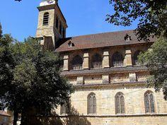 Eglise St-Sauveur. Figeac (Lot) - Midi-Pyrénées