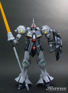 MS-15B Gyan High Mobility Type Gundam - papercraft