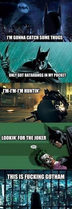 Batmans new theme song // funny pictures - funny photos - funny images - funny pics - funny quotes - #lol #humor #funnypictures