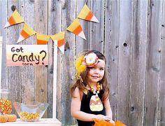 CANDY CORN Banner Fall/Thanksgiving/Halloween Burlap banner (yellow,orange,white) by TheBurlapBanner
