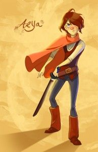 What Game Of Thrones' Arya Would Look Like In A 1960s Animated Disney Film