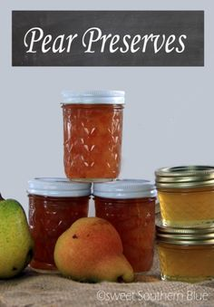 Recipes Archives - Page 2 of 37 - Sweet Southern Blue Pear Relish, Pear Jam, Jelly Recipes, Apple Pie Recipes, Fresh Pear Recipes, Honey Recipes, Drink Recipes, Pear Perserves, Canning Pears
