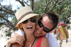 The very core of Places We Go, founder Jennifer Adams and her partner Clint Bizzel #lovers