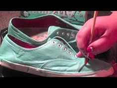DIY Arizona Tea Shoes by Libby