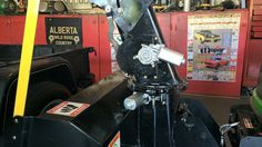 """Installed 2 automobile window motor on my 44"""" 2 stage snow blower. The motors make moving the Shute a breeze"""