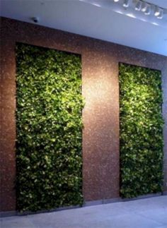 20 Indoor Grass Wall Design Ideas That Make Your Home Fresh . is contemporary landscape. This is when scenery of nature such as forests rivers mountains oceans and valleys are all the main subject of a piece. Modern Canvas Art, Modern Wall Art, Planting Bulbs In Spring, Garden Solutions, Long Walls, Garden Journal, Landscape Walls, Pergola Designs, Contemporary Landscape