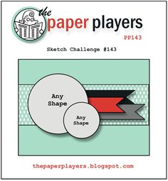 The Paper Players: The Paper Players Challenge #143: Anns Sketch Challenge