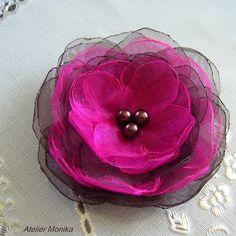 organza flower http://www.fler.cz/zbozi/fuchsie-v-cokolade-4113014